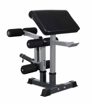 Titanium Strength Leg Developer, Preacher Pad and Attachment Holder Set Accesory for Heavy Duty Bench