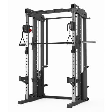 Titanium Strength Commercial Dual Pulley, Smith System and Rack , Fitness, Workout, Home Gym,Crossfit, Squats, Chest, Back, Functional,