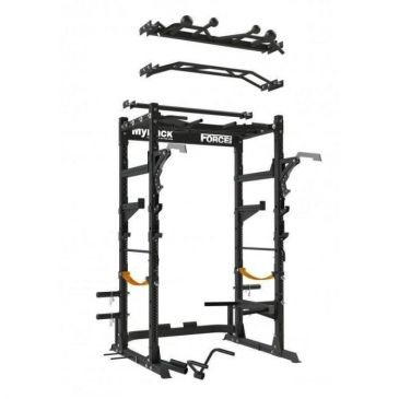 Force USA MyRack Commercial Power Rack With Bench and Accesories