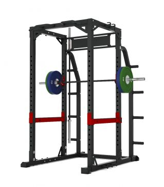 Titanium Strength Commercial HD Heavy Duty Power Rack - X Line