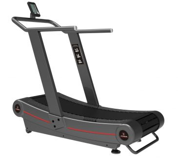 Titanium Strength Commercial Curved Treadmill, HIIT Cardio,  Fitness, Workout, Crossfit, Home Gym, Functional,