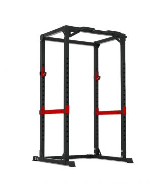Titanium Strength Power Rack, Fitness, Crossfit, Workout, Home Gym, Arms, Chest, Shoulders, Power Cage, Functional