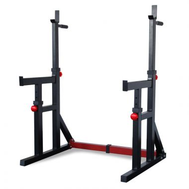 Titanium Strength Einstellbarer Squat Rack / Dip Stand