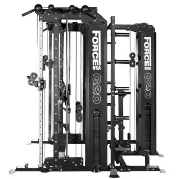 Force USA G20 Functional Trainer , Smith Machine, Squat Rack, Vertical Leg Press, Lat Pull Down & Low Row, Fitness, Crossfit, Workout, Home Gym, Arms, Chest, Shoulders, Squat, Power Cage, Functional