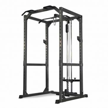 Titanium Strength Full Heavy Duty Power Cage, Fitness, Crossfit, Workout, Home Gym, Arms, Chest, Shoulders, Power Cage, Functional
