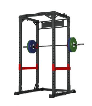 Titanium Strength Commercial HD Power Rack - X Line, Fitness, Crossfit, Workout, Home Gym, Arms, Chest, Shoulders, Multistation, Functional
