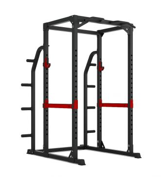 Titanium Strength Evolution HD Power Rack with Storage, Fitness, Crossfit, Workout, Home Gym, Arms, Chest, Shoulders, Multistation, Functional